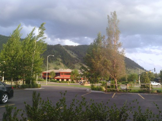Pony Express Motel: view from our room #10