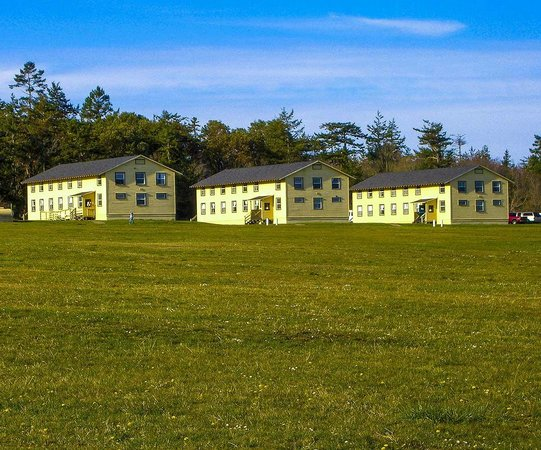 Fort Flagler State Park: Barracks used as a Conference Center. High School bands there when I was there.