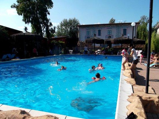 Bam Bam Ristosauro : Giugno, festa in piscina