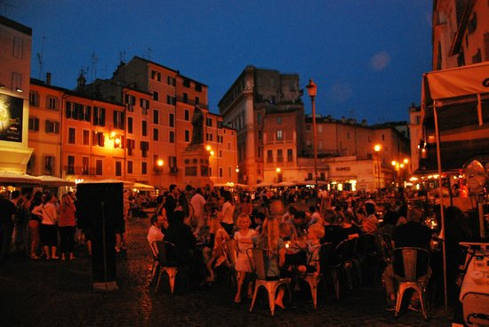 campo de fiori rome nightlife guide - photo#14