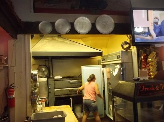 Pizza House: kitchen and pizza sizes