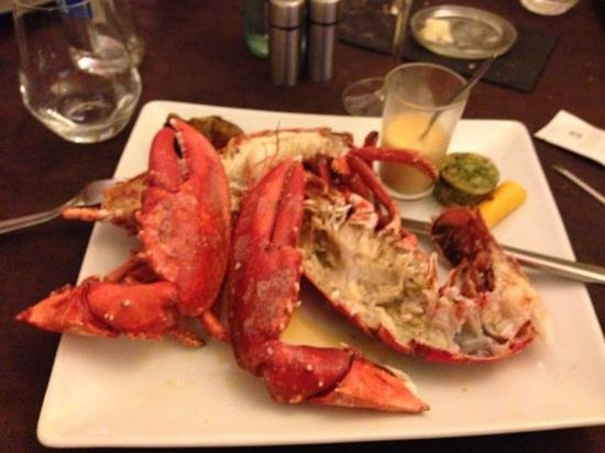 Le Buccin : excellent homard - simple and tasty off the carte