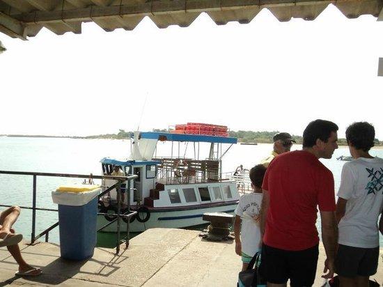 Tavira Island: MUELLE DE TAVIRA, CUATRO AGUAS