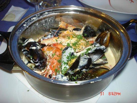 Hotel Restaurant La Chaudree : lekker eten