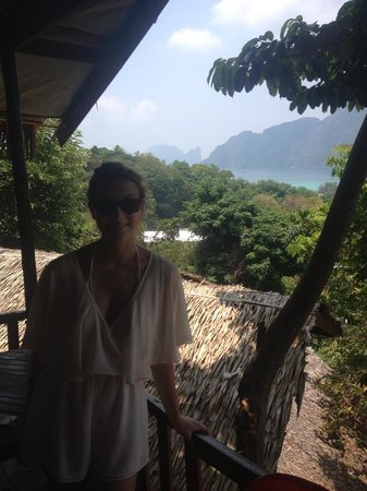 Maney Resort: Outside the room, beautiful view!