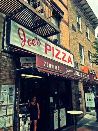 Joe's Pizza - Carmine St : Joe's Pizza Made Vintagy