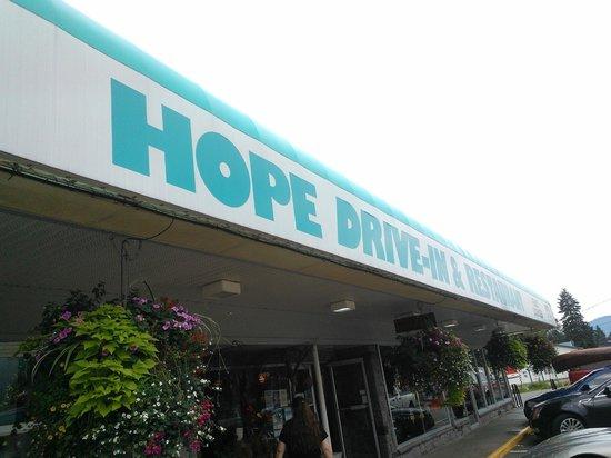Hope Drive In & Restaurant: Hope Dinner