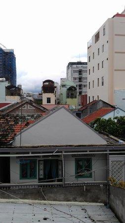 Vicky's Boutique Guest House: uitzicht vanaf het balcon