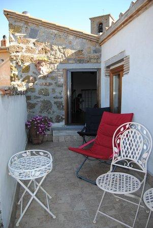 """B&B del Prato : Il ... """"nostro balconcino"""""""