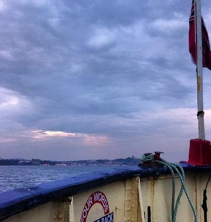 The Regal Lady: View at sea