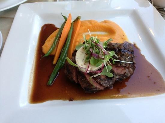 Chez Truchon: conte filet
