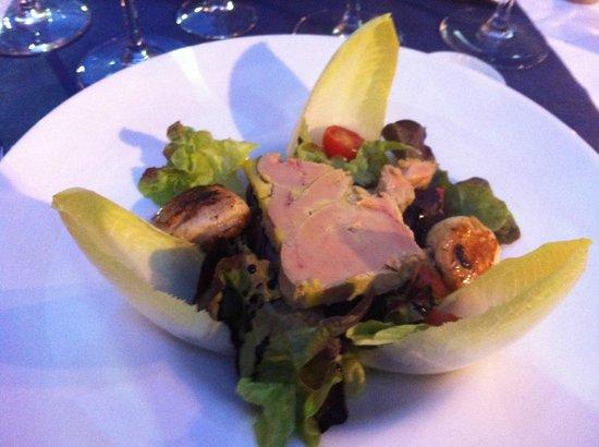L'Angle d'Adriana : foie gras/st jacques