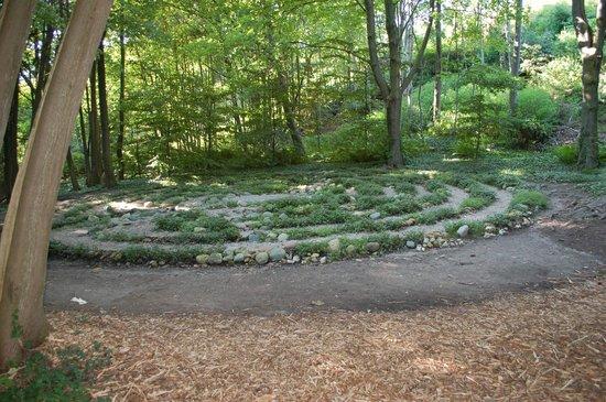 Grand Hotel: walking labyrinth