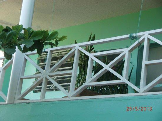 The Tamarind Tree Hotel & Restaurant: Balkon Zimmer 6