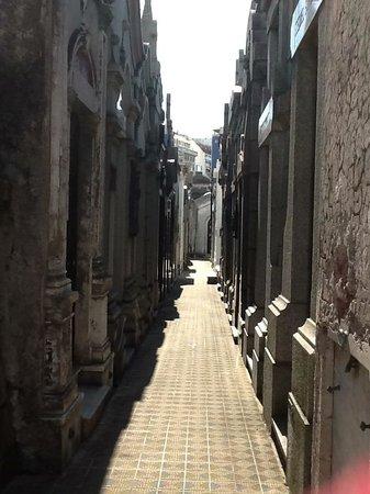 BuenosTours: Lonely - but not alone - La Recoleta