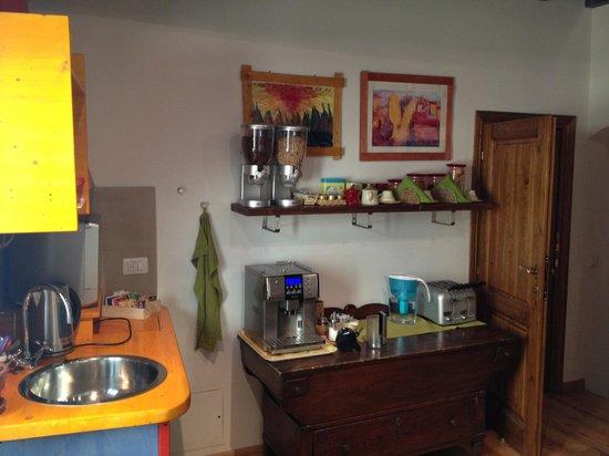 B&B Bonsignori: Common kitchen