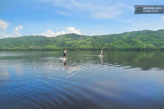 Villa Carino & Wakeboard Paradise : manialtepec lagoon