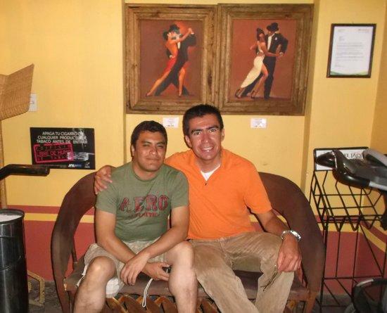 Ajijic Tango: Lobby del restaurante.