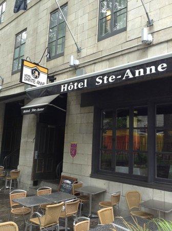 Hotel Sainte-Anne: exterior view 2
