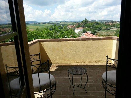 L'Orto di Panza : Our room's balcony
