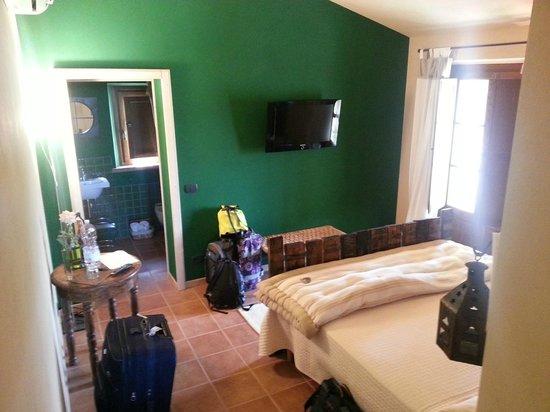 L'Orto di Panza: Our room