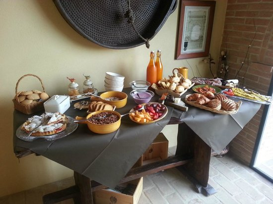 L'Orto di Panza: Amazing Breakfast