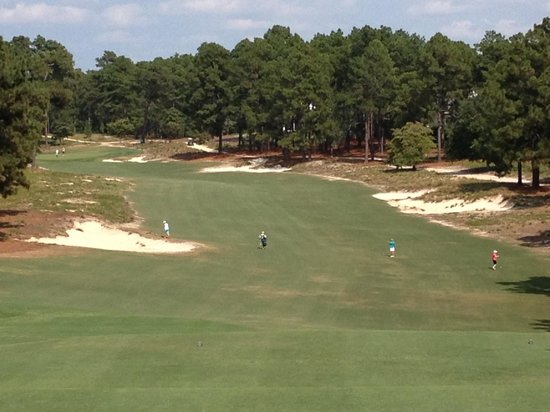Pinehurst Course Number 2 : 4th hole, par 5, Pinehurst #2