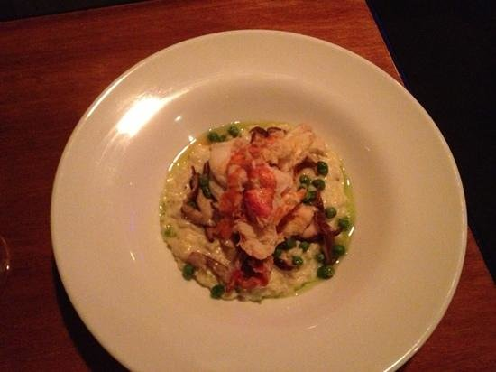 The Mews Restaurant & Cafe : lobster risotto - yum!