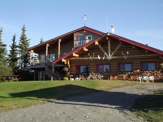 Back side of Lake Louise Lodge