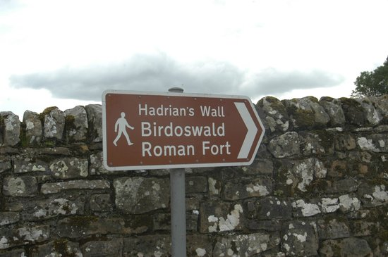 Hadrian's Wall: Just as it Says