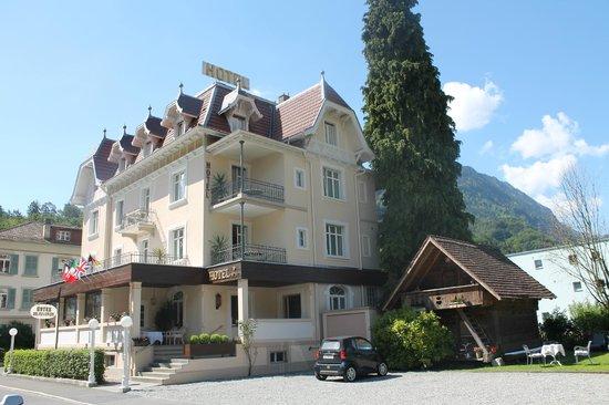 Hotel de la Paix: Edificio del hotel