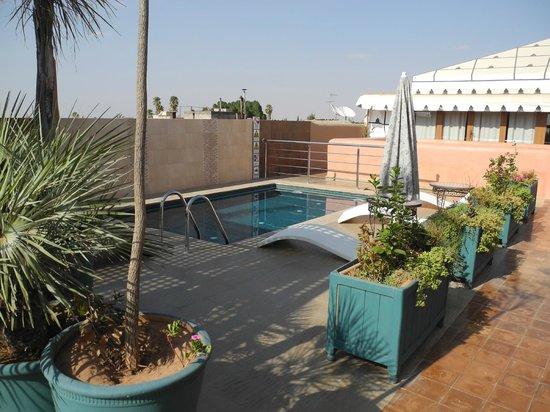 Riad Bahia Salam: piscine