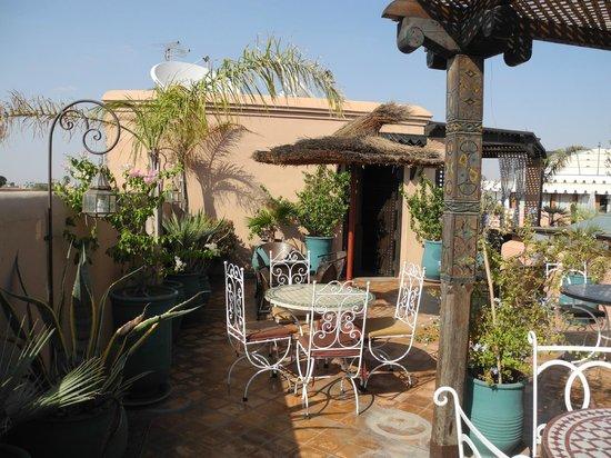 Riad Bahia Salam : terrasse
