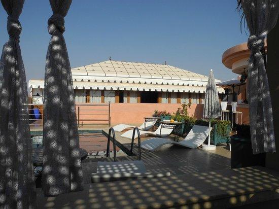 Riad Bahia Salam: terrasse