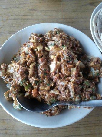 Chirag Roof Top Restaurant: Egg Bhurjii Masala