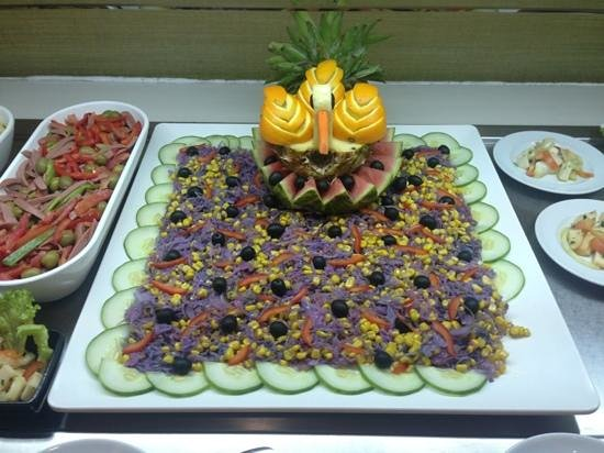 Carambola - Skyna Hotel: salada