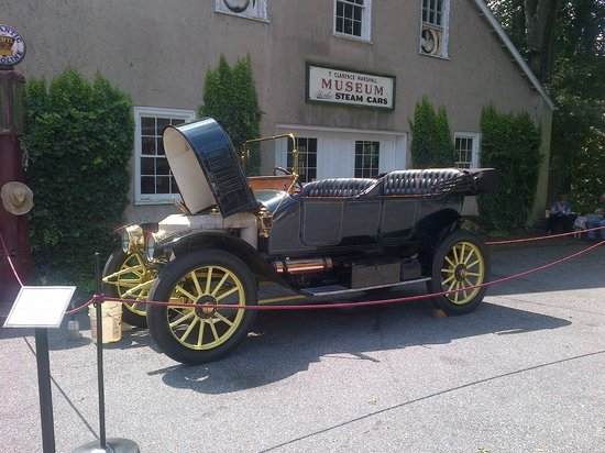 Hockessin, DE: Steam Car that they Use for the Demonstration