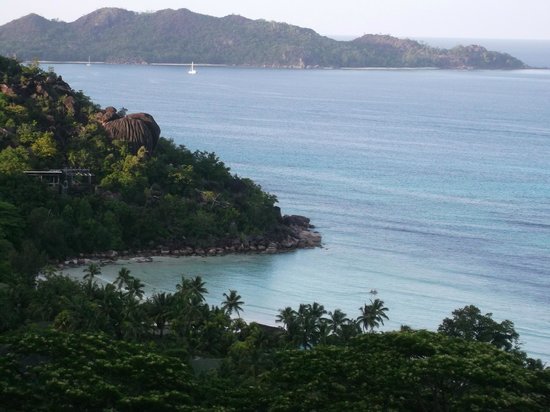 View over bay from Mango Lodge