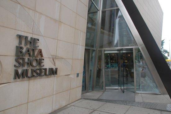 Bata Shoe Museum: Museum Entrance