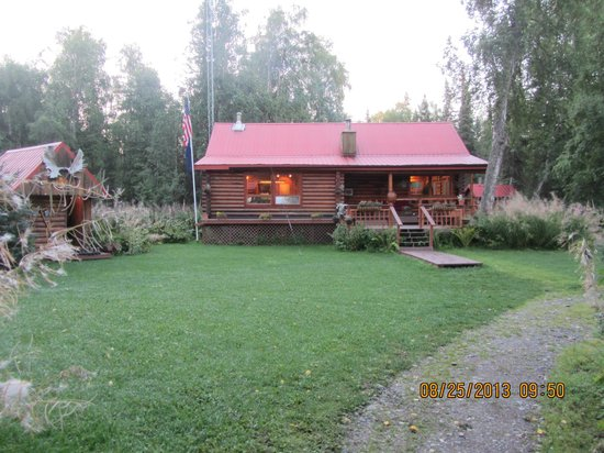 Alaska Fishing Lodge - Wilderness Place Lodge : The Lodge