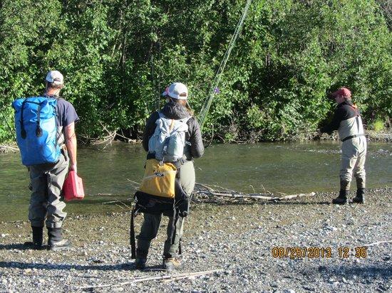 Alaska Fishing Lodge - Wilderness Place Lodge: Amazing fishing!