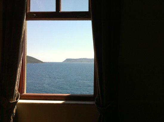 Medusa Hotel : la vue depuis le lit
