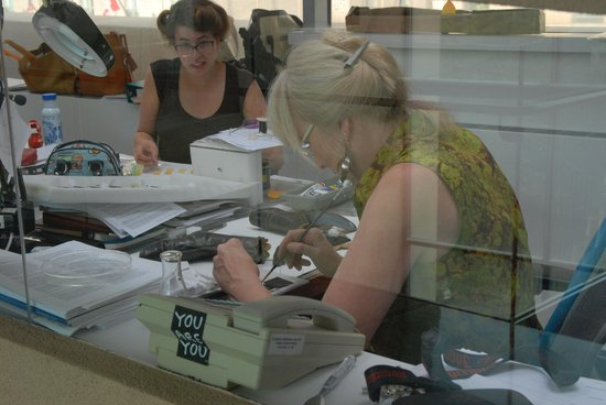 Bata Shoe Museum: Professional Restorers