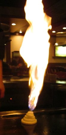 Kabuki Japanese Steak House: Volcano onion