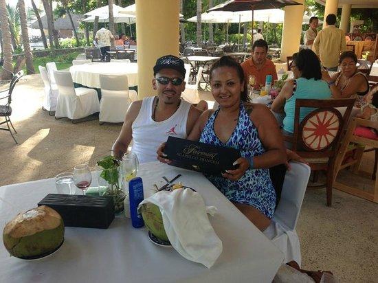 Hotel Princess Mundo Imperial: Hasta premio nos dieron