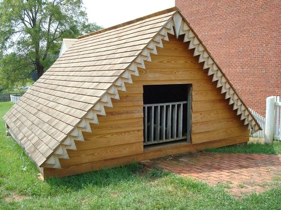 Appomattox Court House National Historical Park: McLean Ice House
