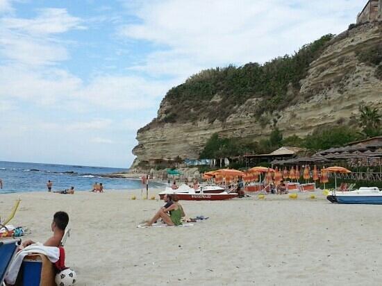 Residence Hotel Felix: spiaggia Stromboli