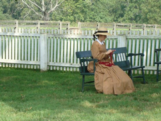 Appomattox Court House National Historical Park: Meeks daughter