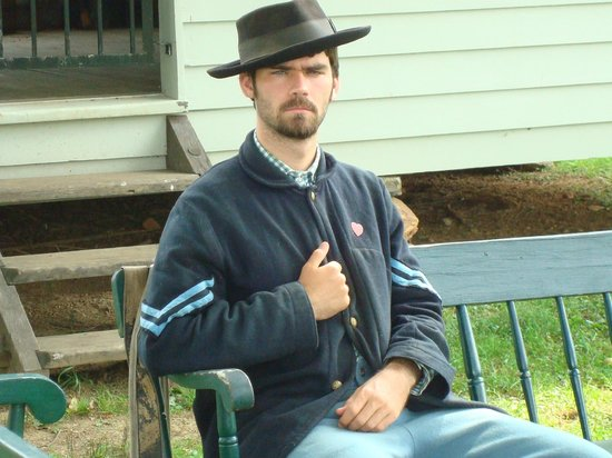 Appomattox Court House National Historical Park: Union Soldier