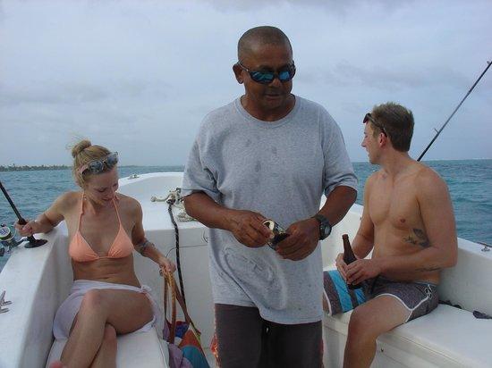 Playa Blanca Villa: Our Captain and great friend Tacio